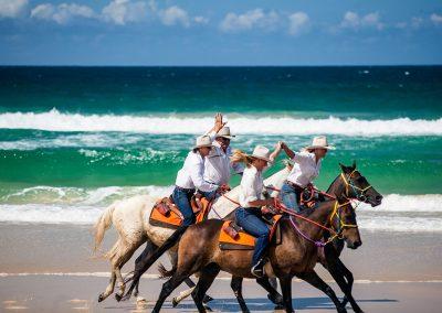 The Team From Rainbow Beach Horse Rides