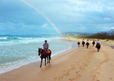 Rainbows at Rainbow Beach