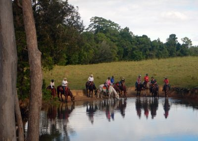 One of the waterholes we visit on our country day ride