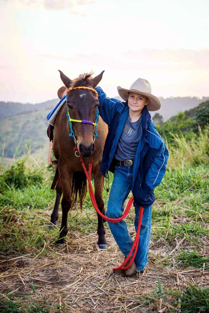 Horse riding experience for children
