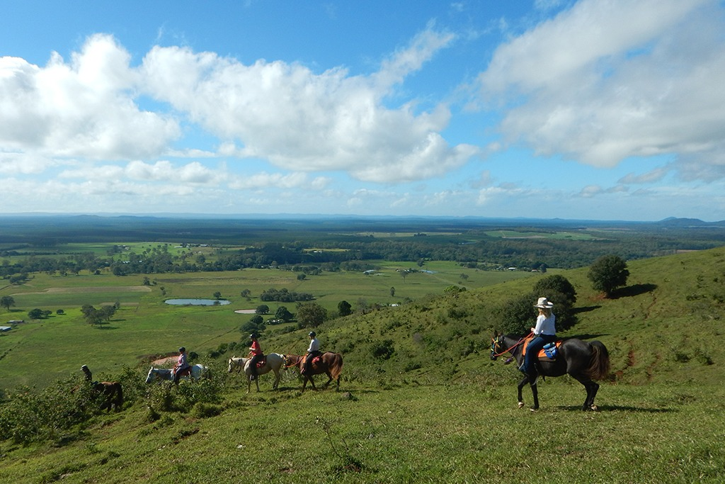 2 - 7 days rides through beautiful coastal bush land of Queensland